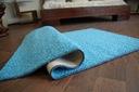 DYWAN SHAGGY SPHINX niebieski 80x100 cm MIĘKKI Grubość 20 mm