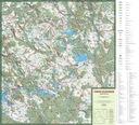 MAPA TURYSTYCZN MIASTO I GMINA ŁOBEZ 1:50 000 Typ mapa