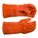 Rękawice spawalnicze pomarańczowe WELDAS 10-2101