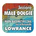 Jezioro Małe Dołgie mapa batymetryczna Lowrance BG