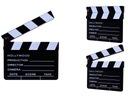 Klaps filmowy HOLLYWOOD 20x17 kreda czarny youtube