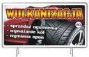 Solidny Baner reklamowy 2x1m Wulkanizacja REKLAMA Rodzaj drukowany pod wymiar