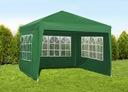 Павильон садовый Палатка Коммерческая 3x3m + 3 Стенки