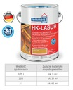 Remmers HK-LASUR пропитка для древесины 5Л Цвета