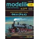 Modelik 11/15 - Niemiecki parowóz Od.2 (P4.2) 1:45