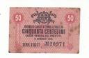 50 centimów 1918 rok  WŁOCHY