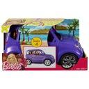 Mattel Samochód BARBIE Fioletowy Suv DVX58 auto