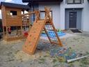 Plac zabaw ślizg piaskownica domek dla dzieci .!!