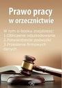Prawo pracy w orzecznictwie, wydanie paździer