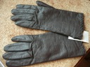 PAIZONG rękawiczki brąz skóra naturalna ITALY 7
