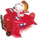Crystal puzzle Snoopy w samolocie