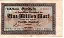 Niemcy Monachium 1 000 000 Mark 1923 Gra:BAY.218d