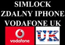 SIMLOCK IPHONE VODAFONE UK 4S/5/5S/5C/6/6S/7/7+SE