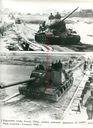 Czołgi LWP i Radzieckie pokonują Odrę i Nysę