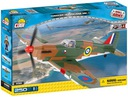 samolot COBI 5518 Hawker Hurricane Mk I myśliwiec