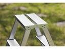 DOMOWA Drabina aluminiowa dwustronna 2x2