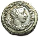 AC- GORDIAN III (238-244), rok 242, boski rewers!+