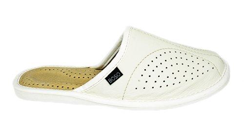 ef439fe5 Pantofle skóra damskie BOSO 20023 klapki kapcie 41 7598272368 ...