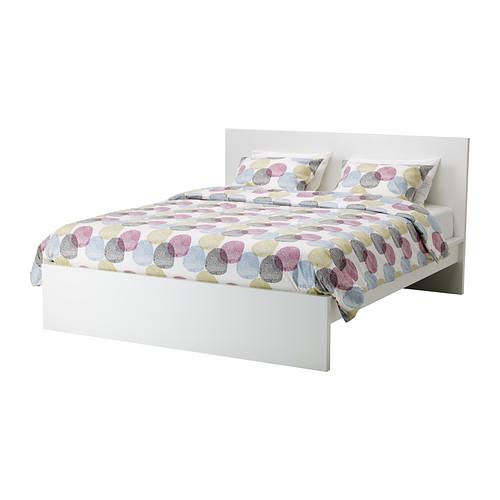 Ikea Rama łóżka 180x200 Białe łóżko Stelaż Malm
