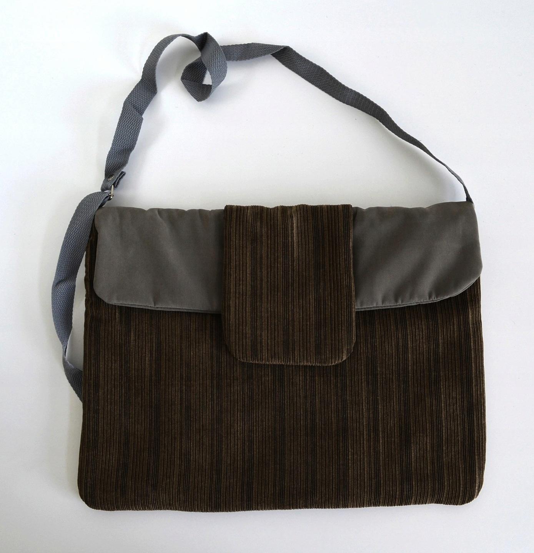 11c831dfde56a Świetna duża torebka w typie teczki listonoszki na ramię w barwach jesieni  - idealna na co dzień i do pracy.