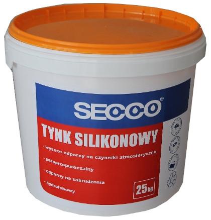 Tynk Silikonowy Secco Fasada Elewacja 25kg Kolor 6164370125