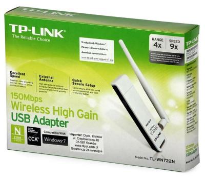 TP-Link KARTA SIECIOWA USB WI-FI TL-WN722N LiveBOX