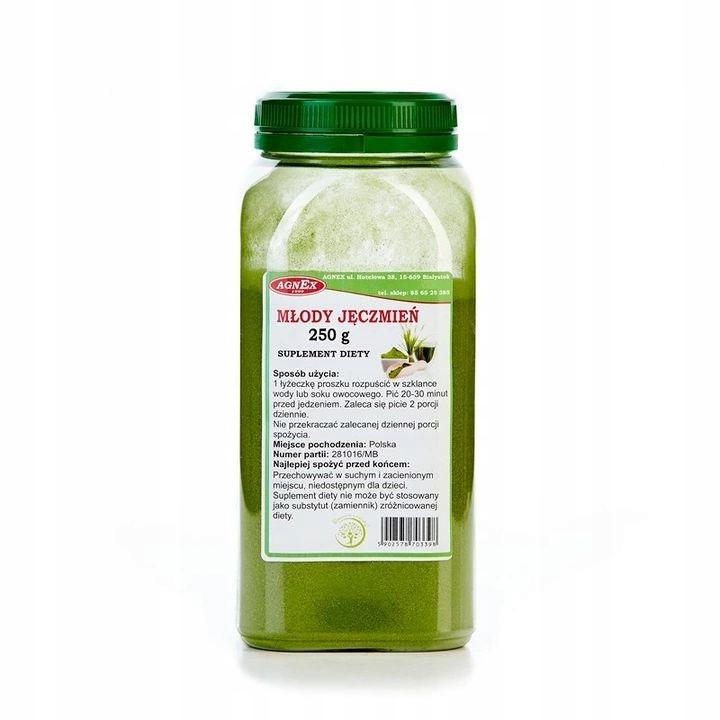 z czym pić młody zielony jęczmień