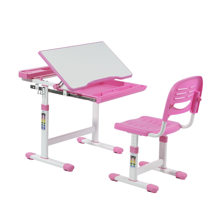 Biurko Z Krzesełkiem Dla Dziecka Cantare Pink 7213203640 Allegropl