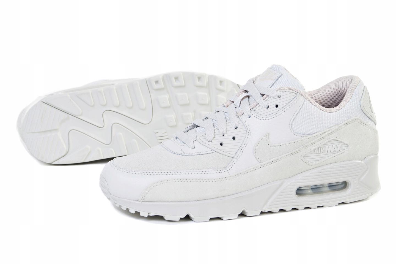 Buty męskie sneakersy Nike Air Max 90 Premium 700155 004 BRĄZOWY