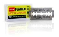 żyletki Feather NEW Hi-Stainless Platinium 10szt