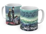 KUBEK anime manga Noragami 330ml + imię napis