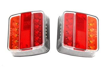 пара лампа мост led прицепа фонарь диодов