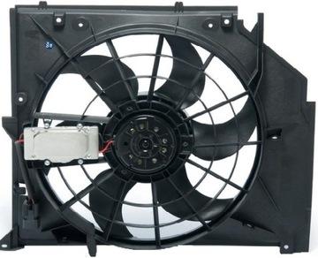 вентилятор радиатора bmw 3 e46 1998-2006 новый