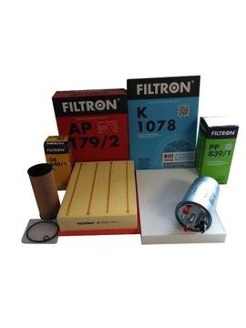 audi a4 b6 1,9 tdi комплект фильтров filtron