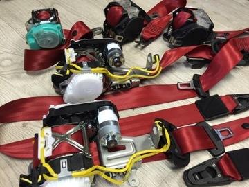 красное tasmy ремни безопасности porsche gtr ferrari audi bmw - фото