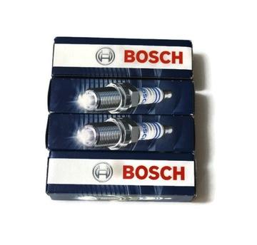 4 x свеча зажигания bosch fr7dc+ 0242235666 7955 - фото