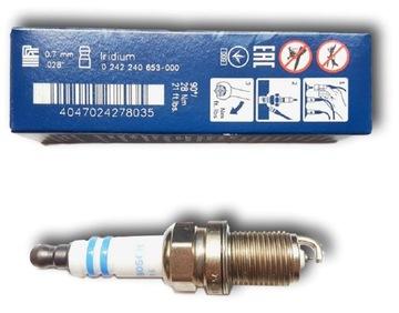 bosch 0242240653 свеча fr6ki332s platinum-iridium