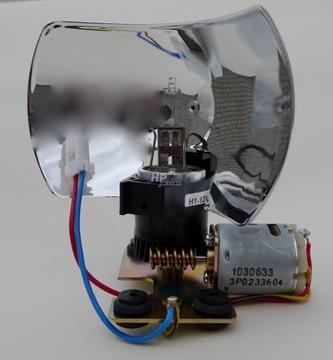 механизм поворотный elektra lbo10t 12v 24v - фото