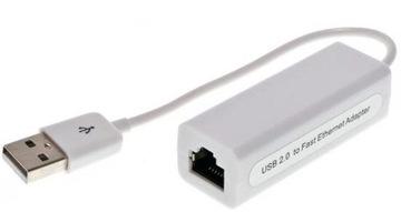 Сетевая карта LAN RJ45 ethernet на USB-кабеле доставка товаров из Польши и Allegro на русском
