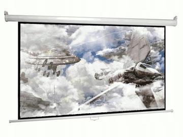 Экран настенный проекционный 210x210 Matt White 120 доставка товаров из Польши и Allegro на русском