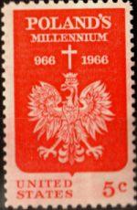 США. Мне 904 ** - Польские эмблема доставка товаров из Польши и Allegro на русском
