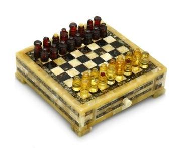 Шахматы из балтийского янтаря янтарные уникум доставка товаров из Польши и Allegro на русском