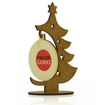 Подарок подарок праздничный логотип компании елка 2p доставка товаров из Польши и Allegro на русском