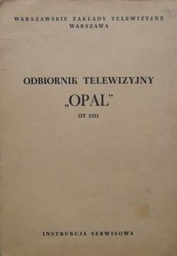 Телевизор OPAL руководство по обслуживанию + схема доставка товаров из Польши и Allegro на русском