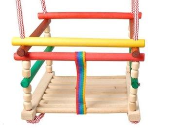 Деревянные качели, традиционный для детей доставка товаров из Польши и Allegro на русском