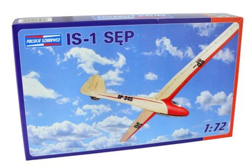 Модель планера IS-1 ГРИФ (1:72) + клей доставка товаров из Польши и Allegro на русском