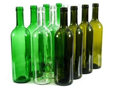 Бутылки 0,75 л для вина - 50 шт. !! РАСФАСОВАННЫЙ !! доставка товаров из Польши и Allegro на русском