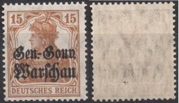 Немецкая оккупация 1916 GGW Fi 11 ** доставка товаров из Польши и Allegro на русском