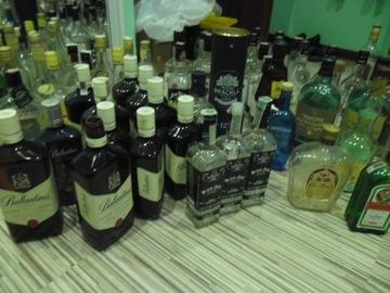 бутылки джек дэниелс, джим бим, джонни ballanines доставка товаров из Польши и Allegro на русском