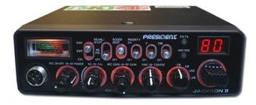 PRESIDENT JACKSON II EXPORT 400CH AM/FM/SSB 20W доставка товаров из Польши и Allegro на русском